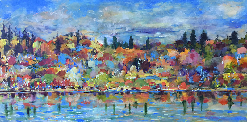 Saskatoon Riverbank in Autumn