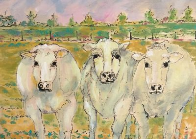 Three Cows