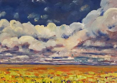 Wheat Fields and Prairie Clouds
