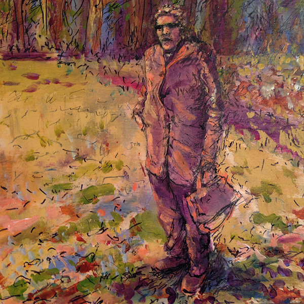 Woman Outside of the Forest